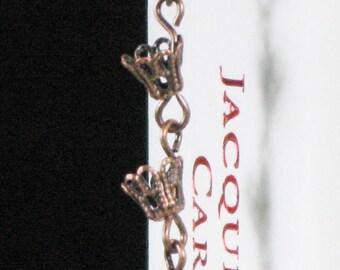 Japanese Copper Rain Chain Bookmark