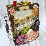3 Ring TRUE Planner Organizer Mini Album Junk Journal Smash Book Scrapbook Art Journal