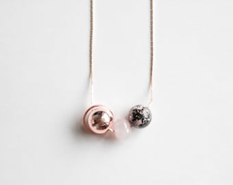 Ball Minimal Necklace — 025