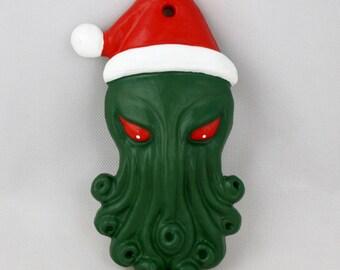 Santa Cthulhu Ornament