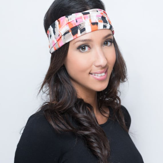 Cute Headbands Colorful Headbands Funky Head Bands Pink  c291b300f3d