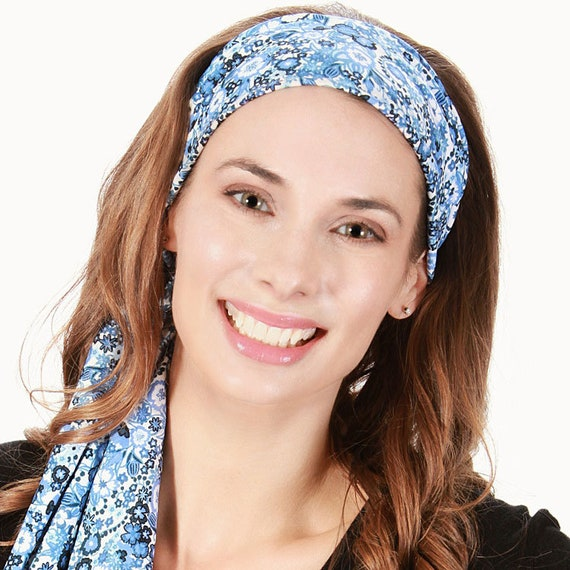 Floral Headbands that Tie   Long Headbands   Long Head Bands    4ce1d908f4a