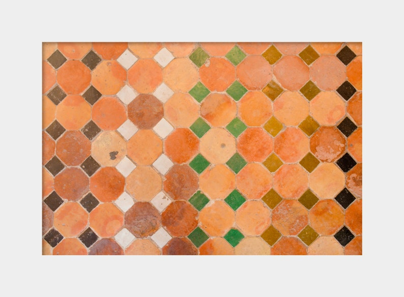 Marocchino delle mattonelle mattonelle di mosaico arte etsy