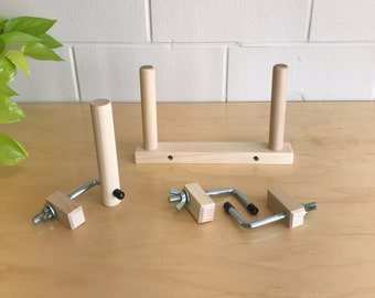 Maple Warping Peg Set