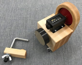 Fiber Artist Supply Co. Yarn Meter Pro Yardage Counter (for use with ball winder and yarn swift. Watch our video demonstration!)