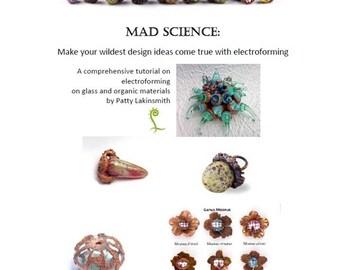 Mad Science - Electroforming Tutorial Instant Download