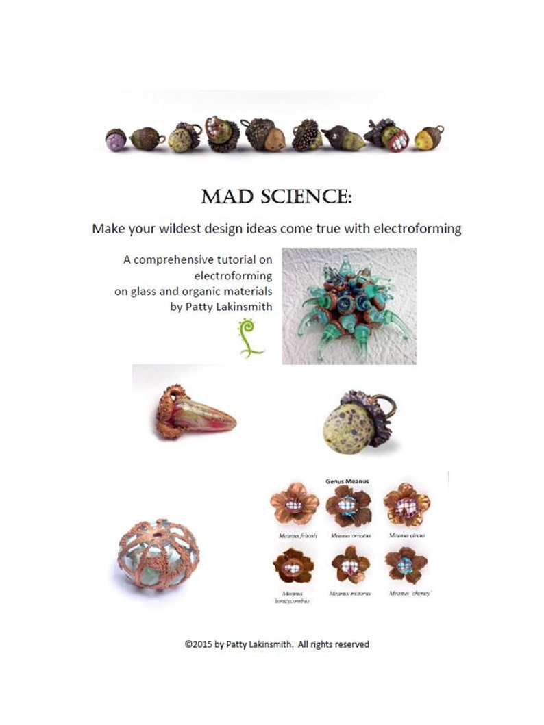 Mad Science  Electroforming Tutorial Instant Download image 0