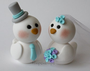 Custom Bird Cake Topper wedding