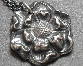 Loveliest in Full Bloom - Fine Silver Made to Order