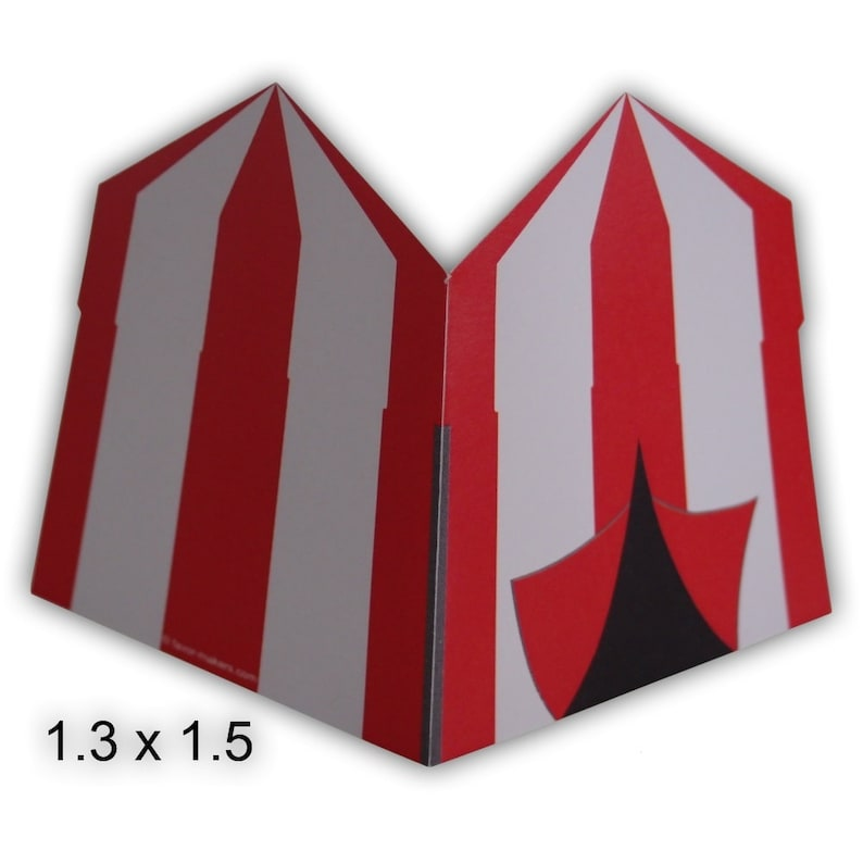 image 0  sc 1 st  Etsy & Carnival Circus Tent Gift Tags Printable Color Digital PDF | Etsy