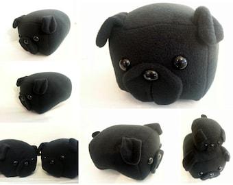 Black Pug Loaf -Made to Order