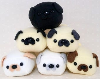 Mini Pug Loaf Color Choice - Made to Order
