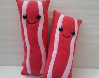 Big Happy Bacon Plush - Made to Order