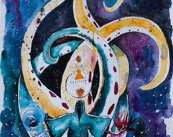 Cosmic Creatrix: prints and original art
