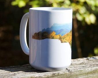 NC State Shape Mug