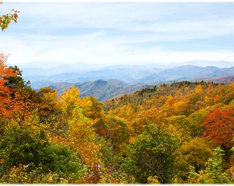 Green Knob Overlook View, BRP