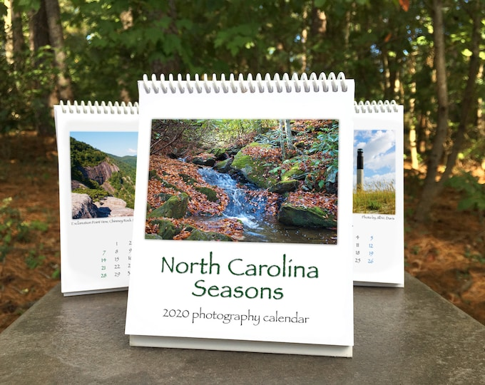 Featured listing image: NC Seasons 2020 Calendar