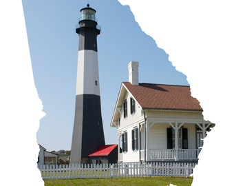 GA Shape - Tybee Island Light