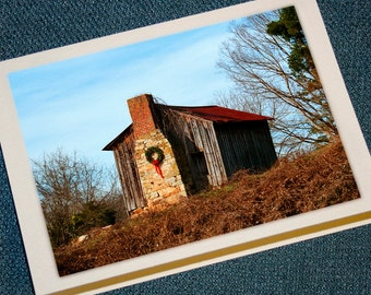 Farm Cabin Holiday Cards
