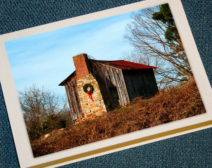 Featured listing image: Farm Cabin Holiday Cards