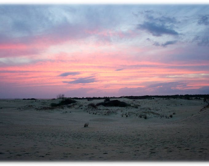 Featured listing image: Sunset over Jockey's Ridge