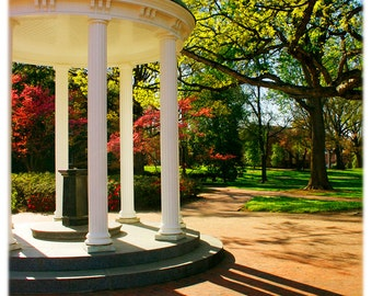 UNC-Chapel Hill Old Well & Long Shadows