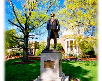 UNCG Charles Duncan McIver Statue