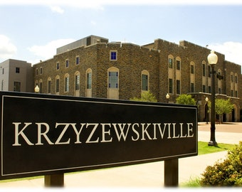 Duke University Kzyzewskiville