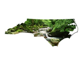 NC Shape - Mountain Stream