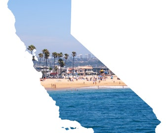 CA Shape - Newport Beach