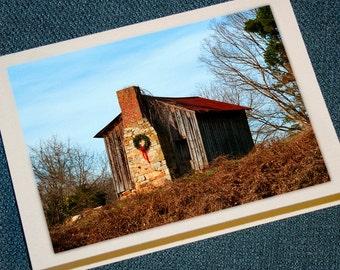 Farm Cabin Holiday Cards
