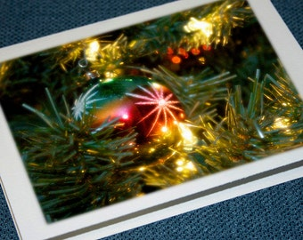 Shiny Brite Vintage Ornament Holiday Cards