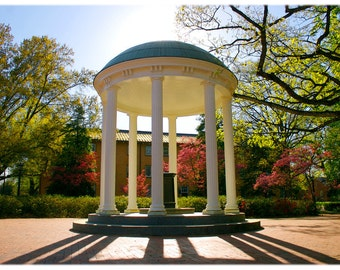 UNC-Chapel Hill Old Well & Old West