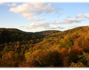 Autumn in the Blue Ridge Moutains