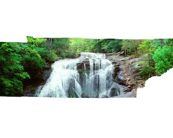 TN Shape - Bald River Falls