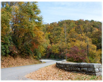Blue Ridge Parkway in Autumn