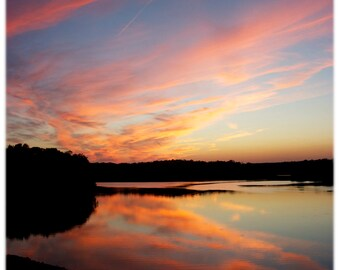 Falls Lake Sunset 2