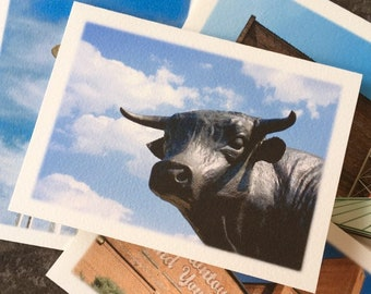 Bull City Note Cards - Durham North Carolina - Set of 4 Different Photos - Fine Art Photography Stationery