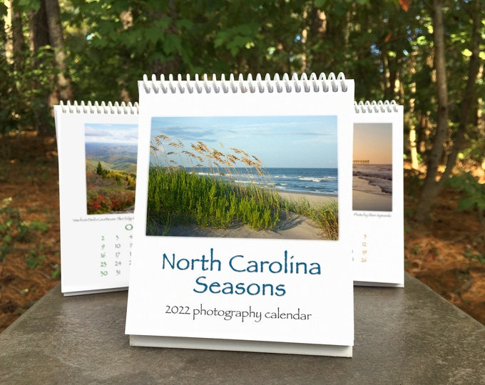 Featured listing image: NC Seasons 2022 Calendar