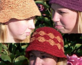 Fun in the Sun Hat Pattern Collection