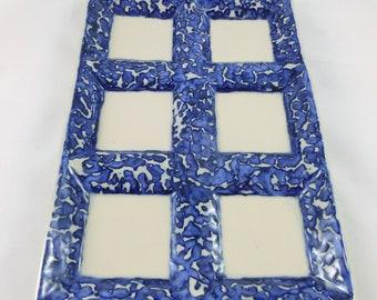 Variegated Seder Plate