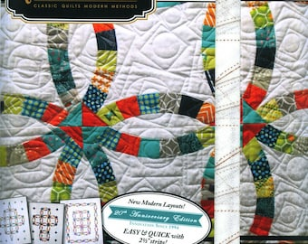 Double Wedding Ring Quilt Pattern Etsy
