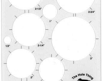 circle grid template etsy