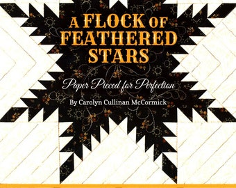 A Flock Of Feathered Stars: Paper Pieced for Perfection