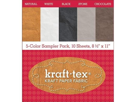 Pack de 5 couleurs Sampler Kraft-Tex: 2 chacun de cinq couleurs originales