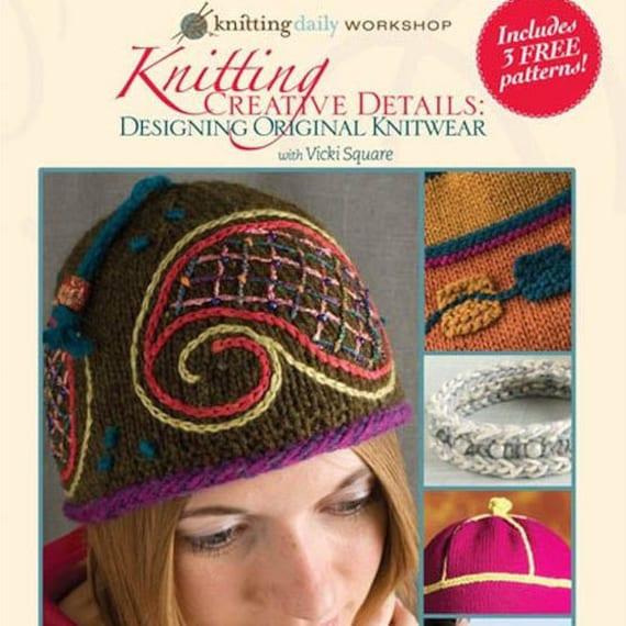 Knitting Daily Workshop Knitting Creative Details Etsy