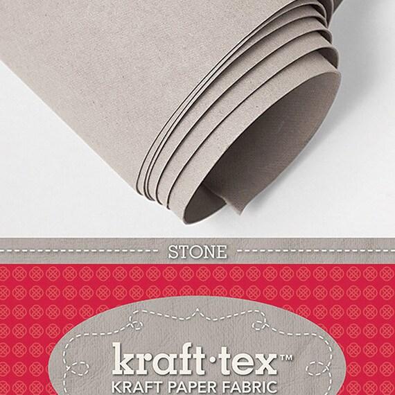 White C/&T Publishing Kraft-Tex Kraft Paper Fabric 19 by 54-Inch
