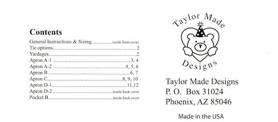 Patrón de costura simplicidad fácil de Damas 8152 1970s Vintage Style Delantales Simpli..