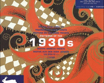 Patterns Of The 1930S plus Cd Rom