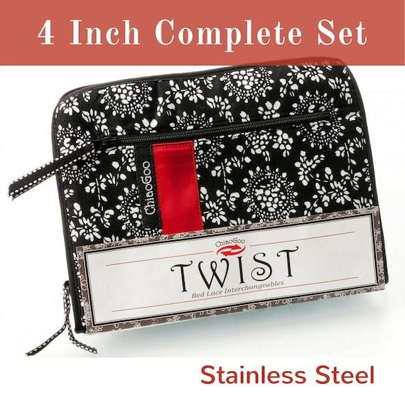 ChiaoGoo Twist Tip Interchangeable Small Set 4-Inch